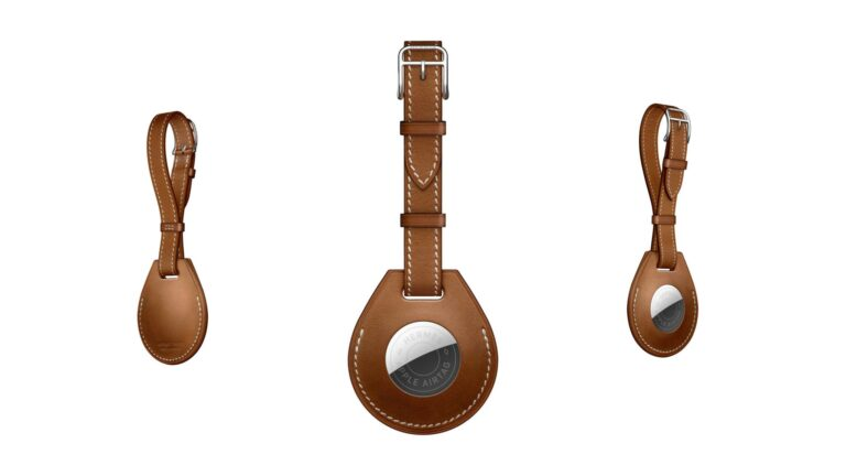 The Apple x Hermès AirTag luggage tag costs more than an iPad